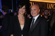 Luisa Ranieri and Luca Zingaretti attend a cocktail party hosted by the Lancia Cafe during the 6th Rome Film Festival on November 2, 2011 in Rome, Italy.