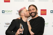 Gus Kenworthy and Jonathan Van Ness attend Celebrities Support LGBTQ Education at Point Honors Gala New York at The Plaza Hotel on April 08, 2019 in New York City.