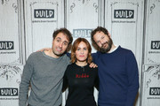 """Michael Angelo Covino, Judith Godrèche and Kyle Marvin visit BUILD to discuss """"The Climb"""" at Build Studio on March 12, 2020 in New York City."""