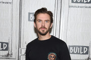"Dan Stevens visits Build series to discuss ""Legion"" at Build Studio on May 11, 2018 in New York City."
