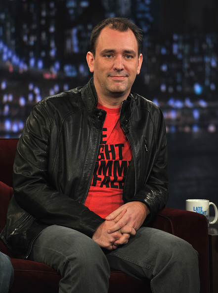 """Trey Parker in Celebrities Visit """"Late Night With Jimmy ... Trey Parker"""