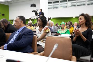 """Manie Malone Celebrity Activist Suzanne """"Africa"""" Engo Featured Speaker At The United Nations Celebration Of Africa Day And International Year For People Of African Descent"""