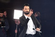Rylan Clark co-hosts the Celebrity Big Brother live eviction at Elstree Studios on January 23, 2018 in Borehamwood, England.