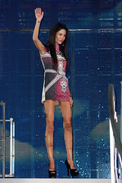 Jasmine Lennard is evicted from the Big Brother House at Elstree Studios on August 22, 2012 in Borehamwood, England.