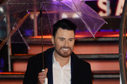 Rylan Clark after the 6th celebrity is evicted from the Big Brother House at Elstree Studios on January 29, 2016 in Borehamwood, England.