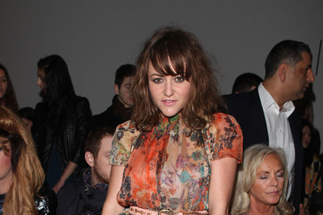 Jamie Winstone Celebrity Front Row Day 3 - LFW Autumn/Winter 2011