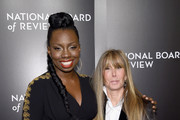 Actress Adepero Oduye (L) and National Board of Review President Annie Schulhof attend 2015 National Board of Review Gala at Cipriani 42nd Street on January 5, 2016 in New York City.