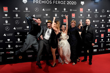 Celia Freijeiro Red Carpet - Feroz Awards 2020