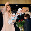 Nelson Angelil Celine Dion Arrives At Caesars Palace In Preparation For New Show