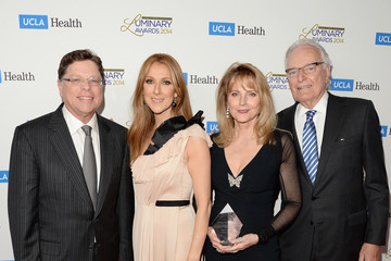 Celine Dion Arrivals at the UCLA Luminary Awards