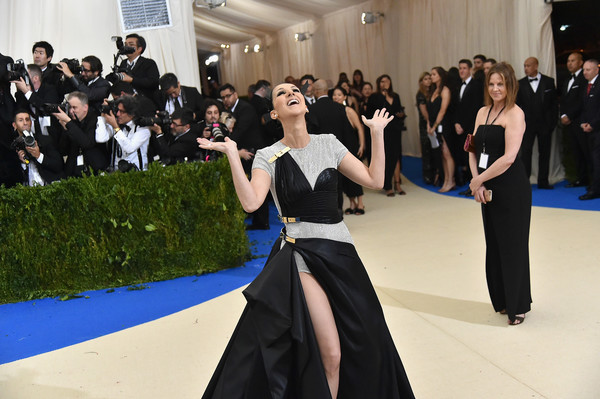 """""""Rei Kawakubo/Comme des Garcons: Art of the In-Between"""" Costume Institute Gala - Arrivals [rei kawakubo/comme des garcons: art of the in-between,rei kawakubo/comme des garcons: art of the in-between,event,fashion,dress,fun,formal wear,dance,performing arts,gown,haute couture,performance,costume institute gala - arrivals,celine dion,new york city,metropolitan museum of art,costume institute gala]"""