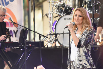 Celine Dion Celine Dion Performs on NBC's 'Today'