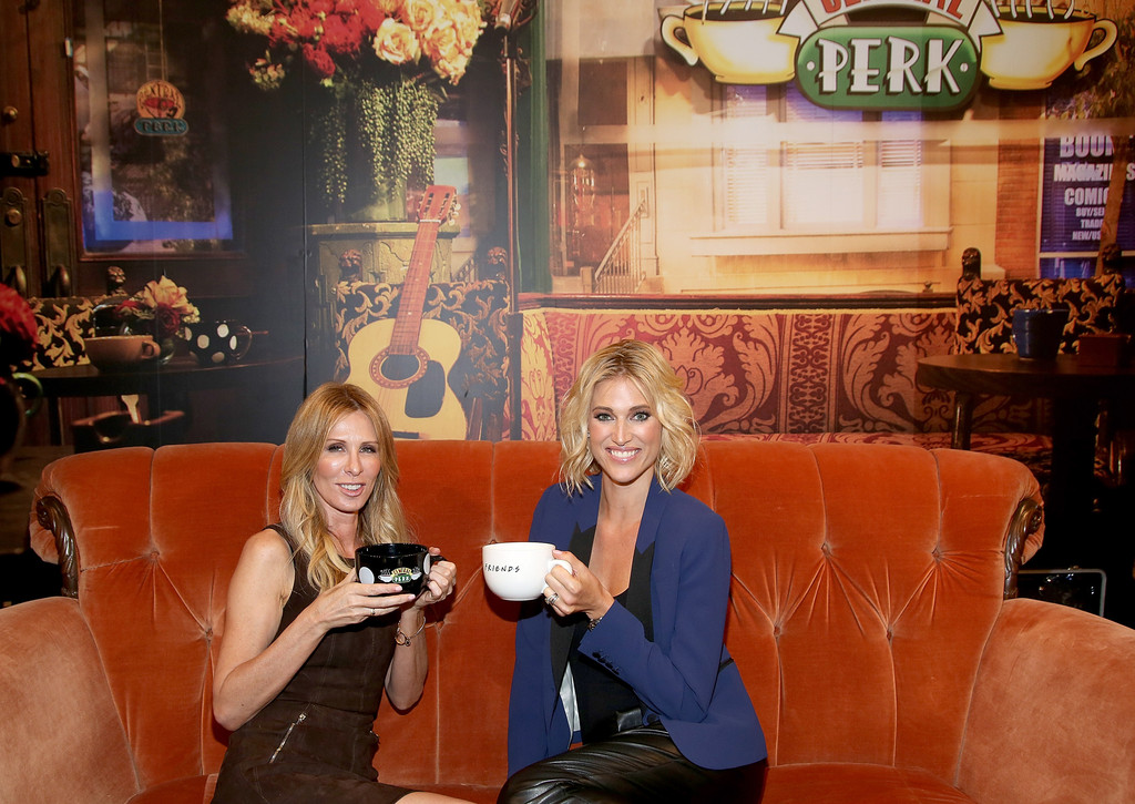 carole radziwill in central perk pop up opens zimbio. Black Bedroom Furniture Sets. Home Design Ideas