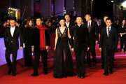 "Actors Zhang Guo Li, Xu Fan and director Feng Xiaogang attend the ""Centro Historico"" Premiere during the 7th Rome Film Festival at the Auditorium Parco Della Musica on November 8, 2012 in Rome, Italy."