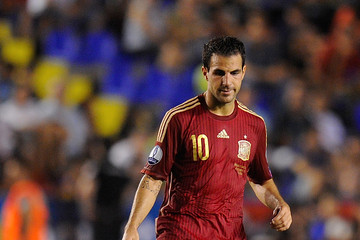 Cesc Fabregas Spain v Former Yugoslav Republic Of Macedonia - UEFA Euro 2016 Qualifiers