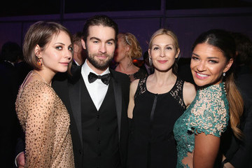 Chace Crawford Arrivals at the Elton John AIDS Foundation Oscars Viewing Party — Part 2