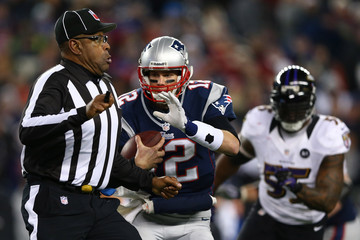 Chad Brown AFC Championship - Baltimore Ravens v New England Patriots