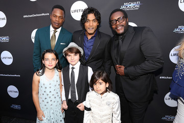 Chad L. Coleman Lifetime's 'Michael Jackson: Searching for Neverland' Premiere Event in Los Angeles