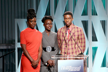 Chadwick Boseman The Hollywood Reporter's Power 100 Women In Entertainment - Show