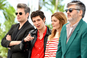 """(L-R) Benjamin Biolay, Vincent Lacoste, Chiara Mastroianni and Director Christophe Honore attend the photocall for """"Chambre 212"""" during the 72nd annual Cannes Film Festival on May 20, 2019 in Cannes, France."""