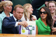 Sir Chris Hoy and Sarra Hoy Photos Photo