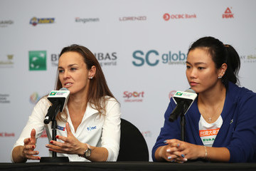 Chan Yung-Jan BNP Paribas WTA Finals Singapore Presented by SC Global - Day 7