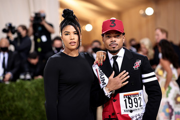 Chance the Rapper Kirsten Corley The 2021 Met Gala Celebrating In America: A Lexicon Of Fashion - Arrivals