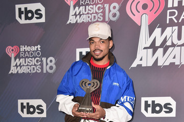 Chance the Rapper 2018 iHeartRadio Music Awards - Press Room