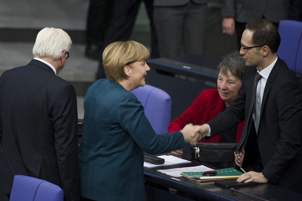 Bundestag Holds First Session of New Government