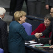 Chancellor Angela Merkel Bundestag Holds First Session of New Government