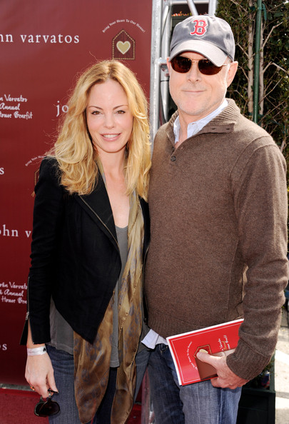 Chandra West with cool, talented, Husband Mark Tinker