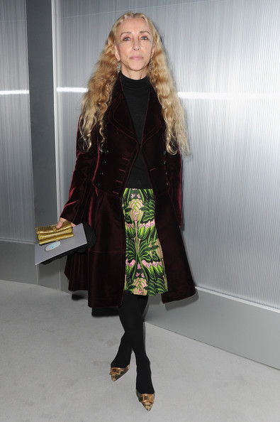 Franca Sozzani attends the Chanel Haute-Couture Spring / Summer 2012 Show as part of Paris Fashion Week at Grand Palais on January 24, 2012 in Paris, France.