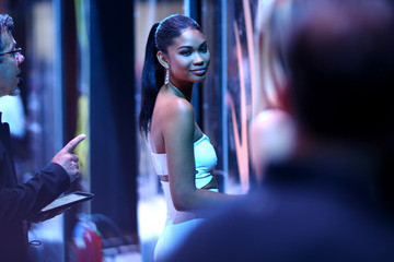 Chanel Iman Spike TV's Guys Choice 2015 - Backstage and Audience