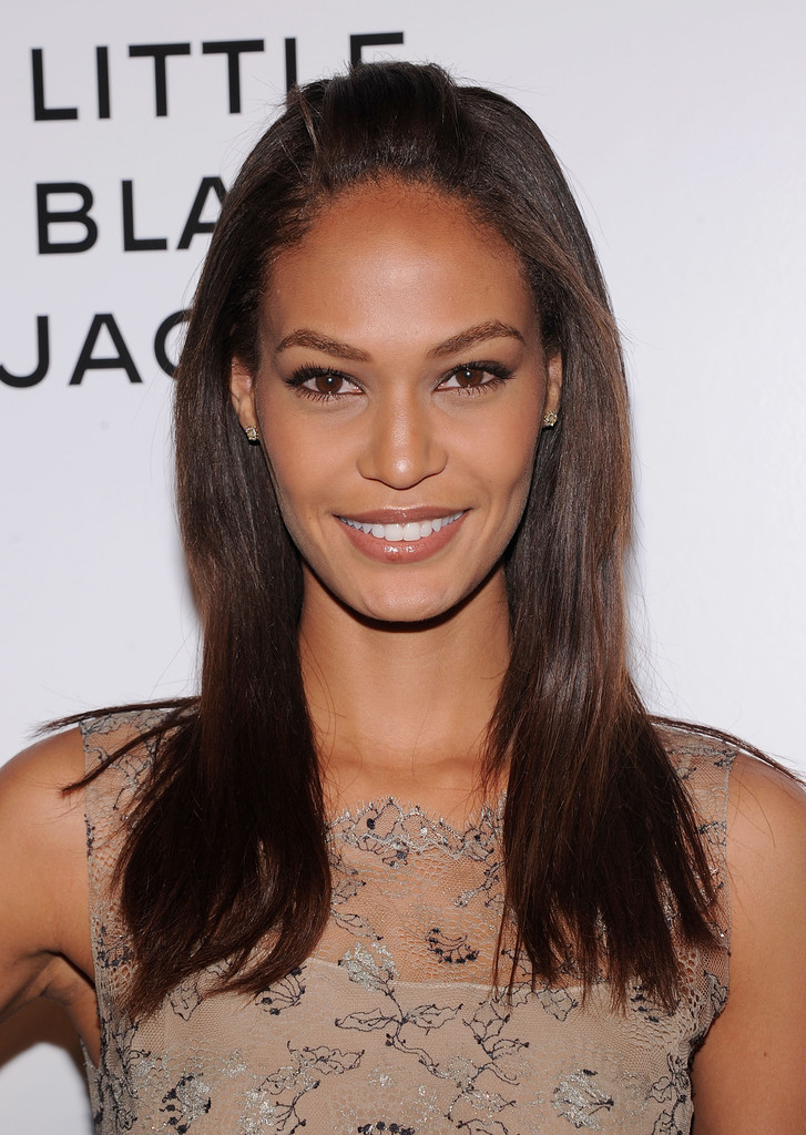 Joan Smalls At Topshop Fashion Show At London Fashion Week: Chanel's:The Little Black