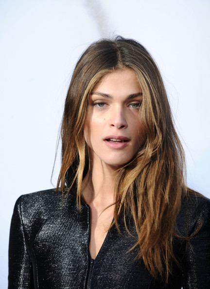 Elisa Sednaoui Elisa Sednaoui attends the Chanel Ready to Wear show as part of the Paris Womenswear Fashion Week Fall/Winter 2011 at Grand Palais on March 9, 2010 in Paris, France.