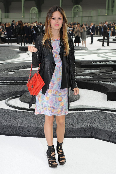 Rachel Bilson attends the Chanel Ready to Wear Spring/Summer 2011 show during Paris Fashion Week at Grand Palais on October 5, 2010 in Paris, France.