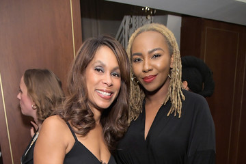 Channing Dungey InStyle Badass Women Dinner Hosted By Tracee Ellis Ross And Laura Brown