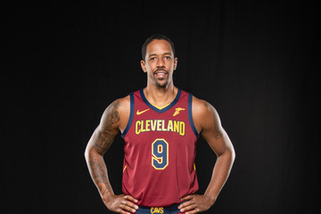 Channing Frye Cleveland Cavaliers Media Day