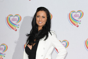 Chantelle Houghton Arrivals at the Health Lottery Tea Party