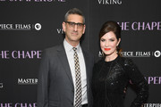 """Director Michael Engler and Victoria Hill attend """"The Chaperone"""" New York Premiere at Museum of Modern Art on March 25, 2019 in New York City."""