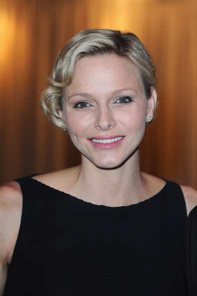Charlene Wittstock Gets Lunch in Italy - Pictures - Zimbio
