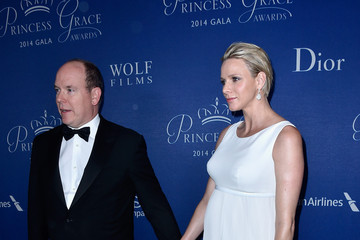 Charlene Arrivals at the Princess Grace Awards Gala