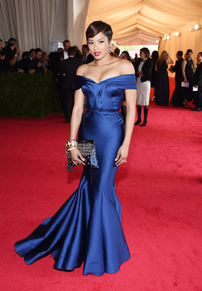 Alicia Quarles Pictures Red Carpet Arrivals At The Met Gala Part 3 Zimbio