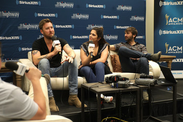 Charles Kelly SiriusXM's The Highway Channel Broadcasts Backstage Leading Up To The ACMs