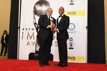 Charles Ogletree  48th NAACP Image Awards -  Press Room