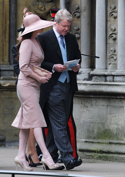 Charles Spencer Karen Gordon Photos Royal Wedding