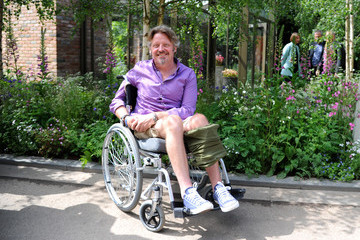Charley Boorman Chelsea Flower Show - Press Day 2016
