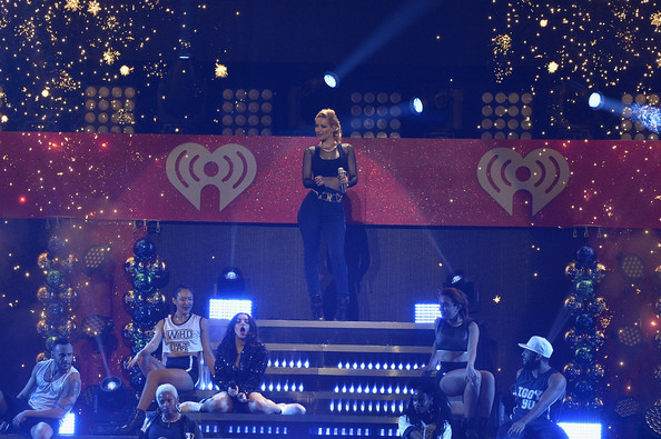 KISS 108's Jingle Ball 2014 - Show [performance,stage,entertainment,concert,performing arts,event,rock concert,public event,pop music,music artist,charli xcx,iggy azalea,boston,massachusetts,td garden,kiss 108,l,market basket supermarkets,jingle ball 2014 - show]