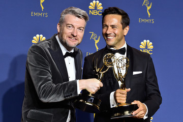 Charlie Brooker 70th Emmy Awards - Press Room