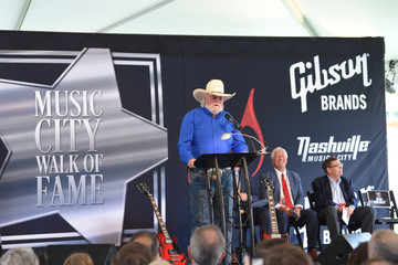 Charlie Daniels 2018 Music City Walk Induction Ceremony